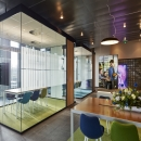 Multiple QQ1 freestanding glass office unit