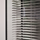 Close up of closed blinds of QbiQ