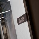 Room number frame