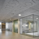 Full glass partitions walls