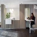 Worksspace in the main hall at Rabobank Capell aan den IJssel