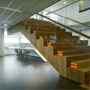 Cental staircase at Ernst & Young Venlo, The Netherlands