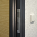 Door frame with double seals for great sound reduction