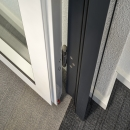Double sealed door with drop seal and very high acoustic values