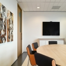 High class interior design boardroom at Ernst & Young Venlo, The Netherlands