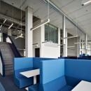 QbiQ IQ-PRO Double glass partition wall Atlas TU/e in Eindhoven