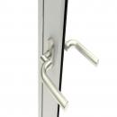 Door handle Bonn with cranked shaft