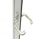 Door handle Paris with cranked shaft
