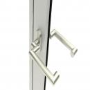 Door handle Rotterdam with cranked shaft