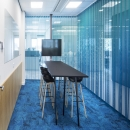 Converstaion / meeting room of glass