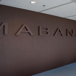 Entrance at Mabanaft in Rotterdam