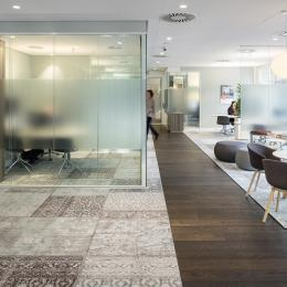 Conversation room for privacy at Rabobank Capelle a/d Ijssel