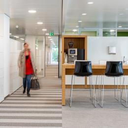 Hallway at town hall Woerden