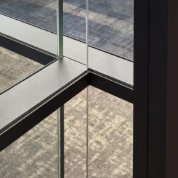 T-connection IQ-Pro double glass wall