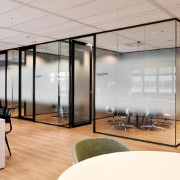 Full glass offices