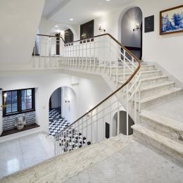Het historische trappenhuis