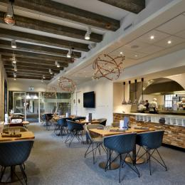 Company restaurant Seeligkazerne Breda, the Netherlands
