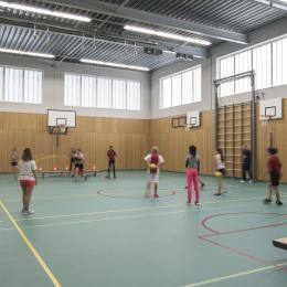 Gymzaal van het Herbert Visser College