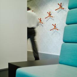 High class interior design at Ernst & Young Venlo, The Netherlands