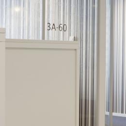 QbiQ IQ-Single partitions wall with text design added