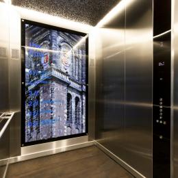 Elevator at The Flow Houthavens Amsterdam