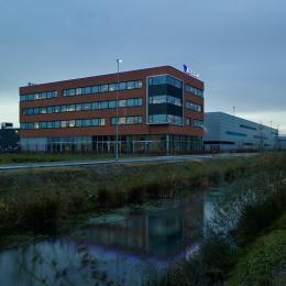 The office building of Brezan in the city Ede in The Netherlands