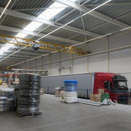 Verkade klimaat inside the factory