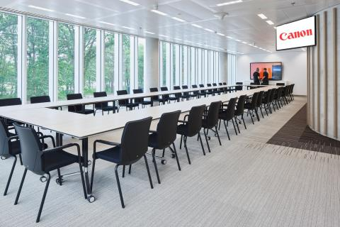 Large meeting room at the first floor at Canon Production Printing Venlo