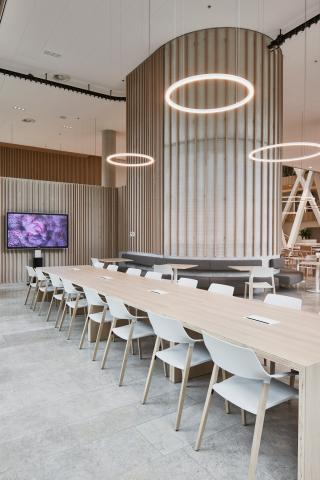 Company restaurant at Canon Production Printing Venlo