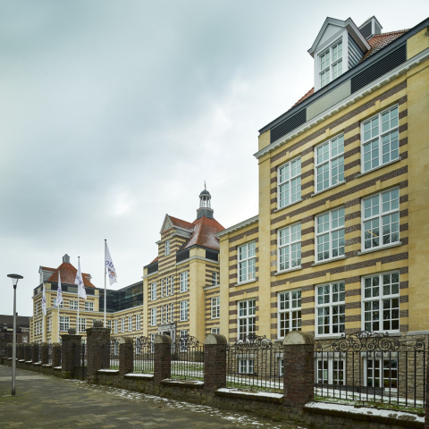 The historic building where Obvion is housed in Heerlen