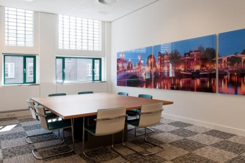 Conference room at Labré Advocaten Amsterdam