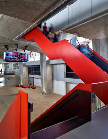 Atlas TU/e atrium at the ground floor