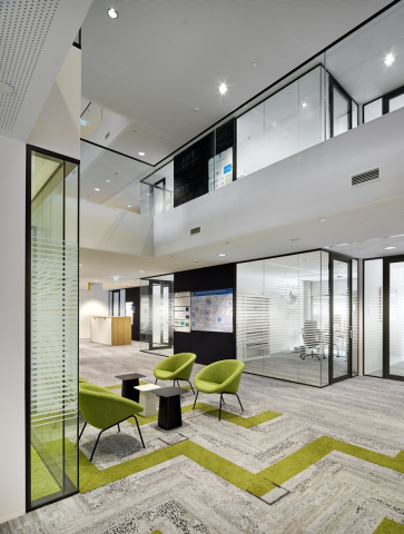 Single and double glass walls