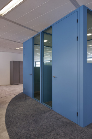 Concentration units with high acoustic values in a nice blue color