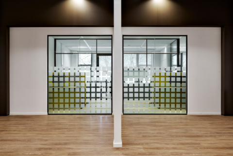 IQ-PROTECT Hightech EI60 fire resistant glass wall