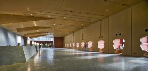 Main hall at Menneart University in Utrecht