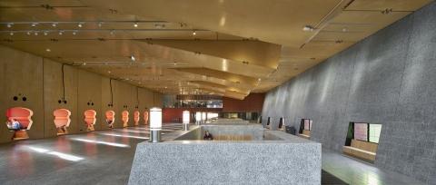 Main hall at Minnaert University in Utrecht