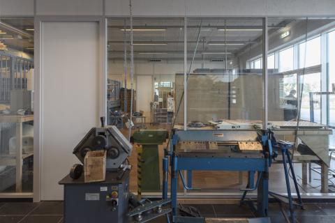 iQ-Structural glazen systeemwand