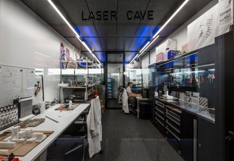 Laser Cave at The Flow Houthavens Amsterdam
